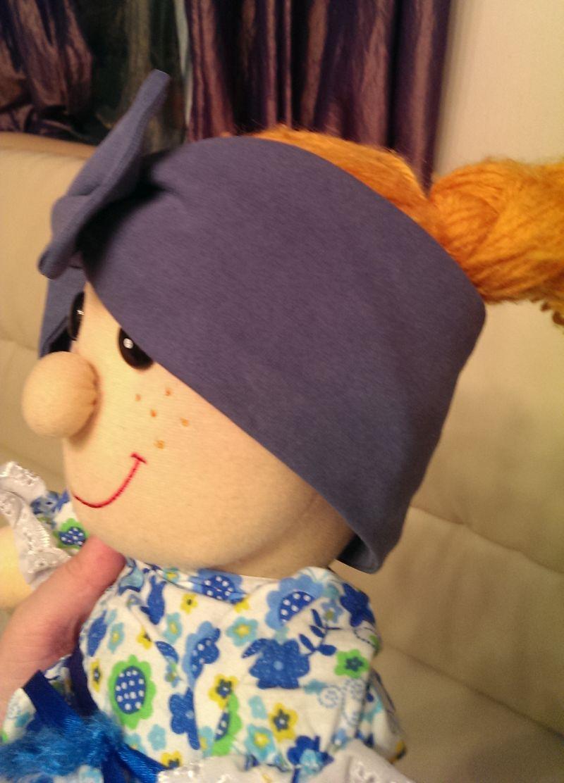 Красивые повязки на голову для новорожденных - Своими руками 70