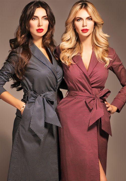 f34aced1d30 Платье-халат  модные фасоны и советы по выбору обновки
