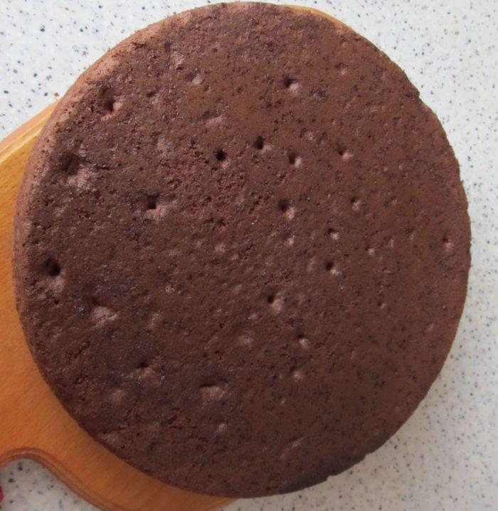 Рецепт бисквита для торта простой видео