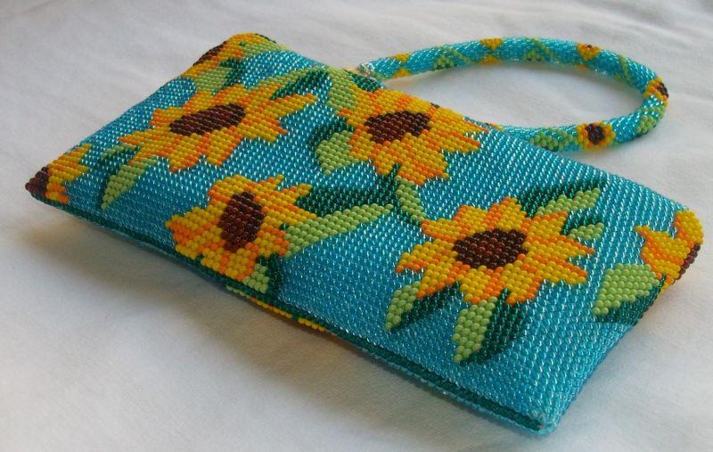 вязание крючком с бисером основы техники для начинающих