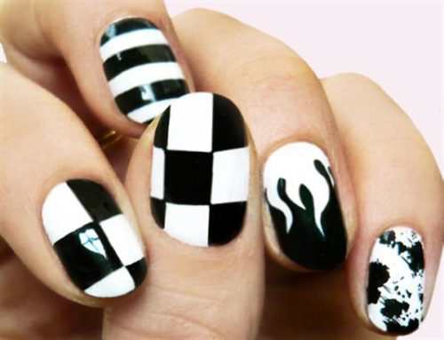 black-and-white-nail-design-13