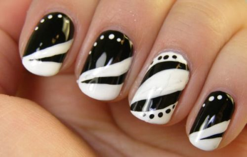 black-and-white-nail-design-16