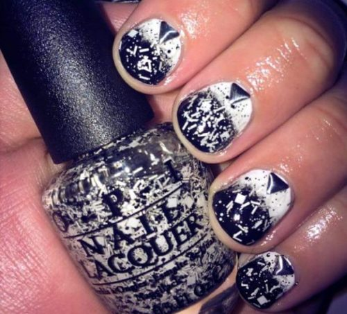 black-and-white-nail-design-5