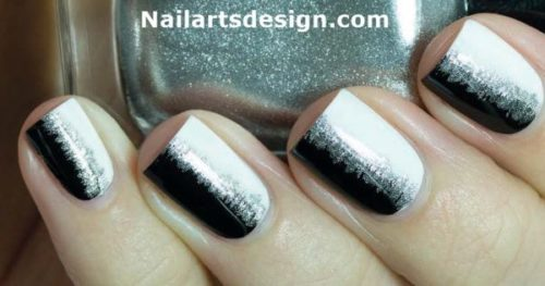 black-and-white-nail-design-9
