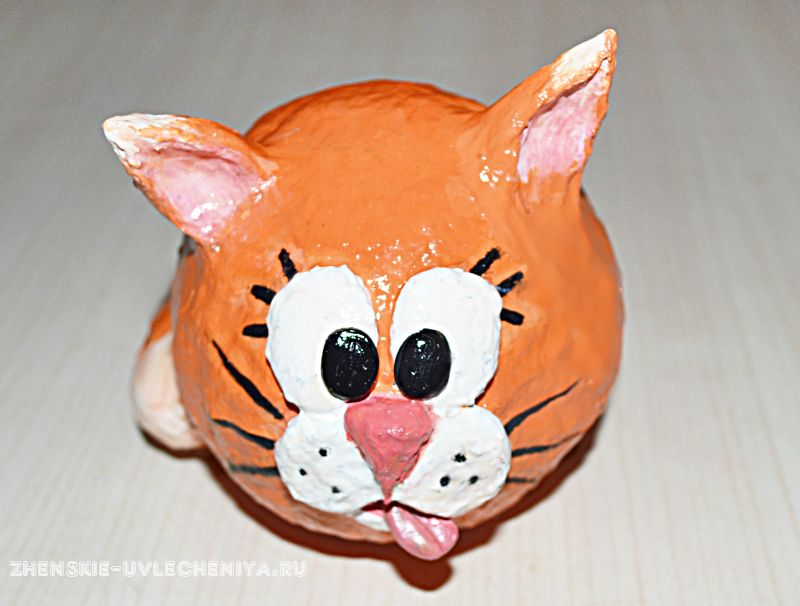Как сделать мордочку кошки 480