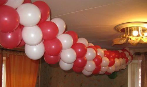 украшение шарами на день рождения ребенка фото