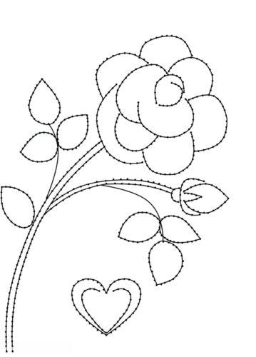 схема розы изониь