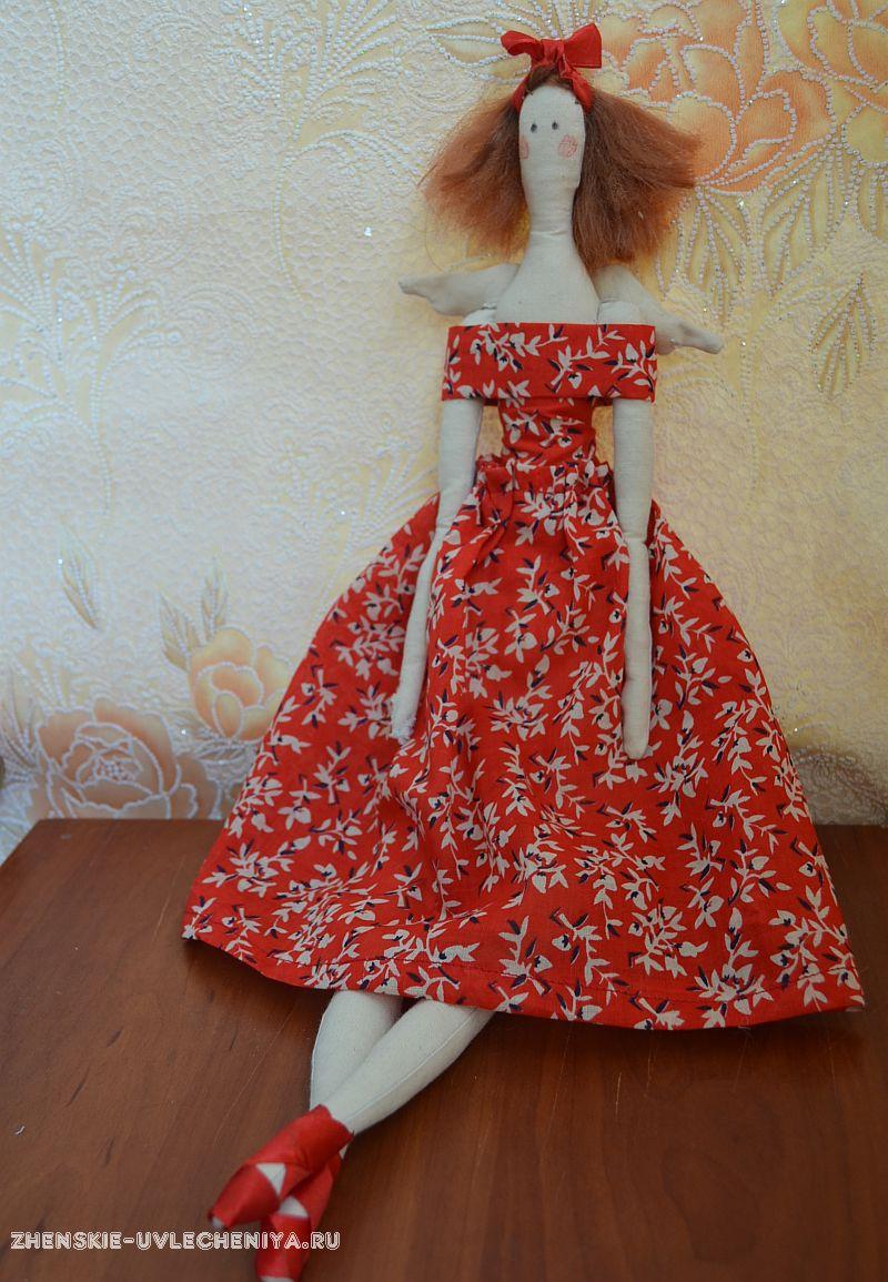 Новогодняя кукла тильда своими руками выкройки фото 30