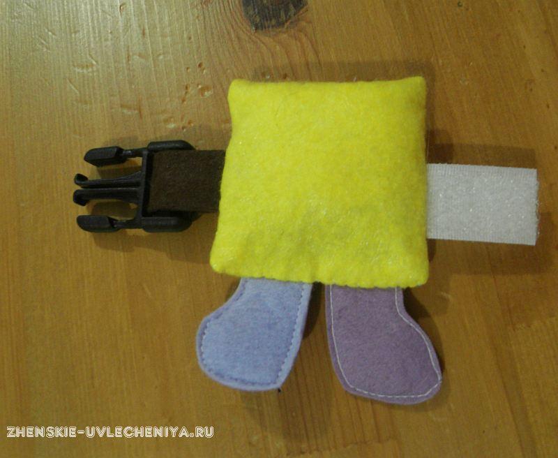 Игрушка для развивающего кубика своими руками 3