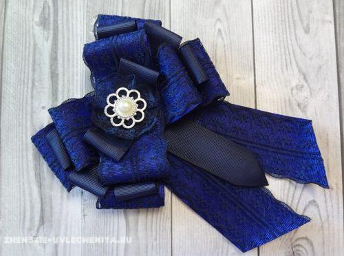 галстук канзаши своими руками