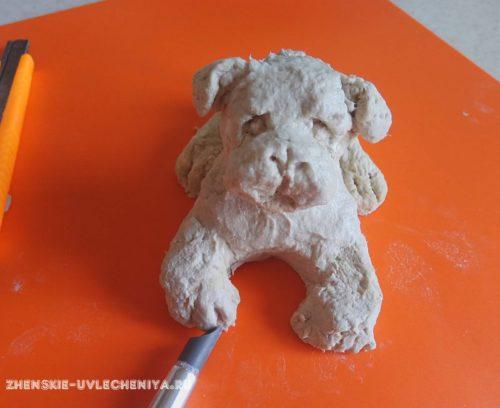 собака папье-маше, мастер-класс