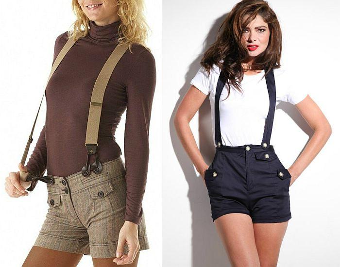 c6878706099 Женские подтяжки подходят практически для всех стилей одежды. Посмотрите на  фото – они уместны и в кэжуал