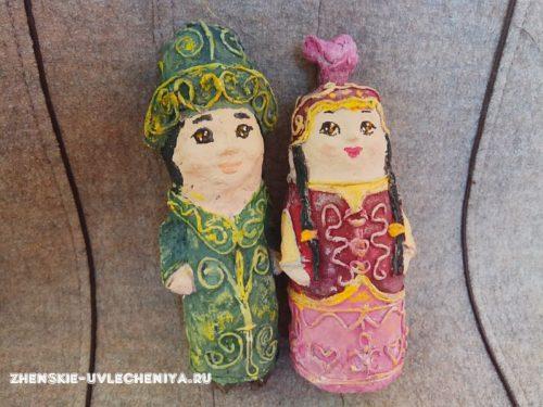 куклы папье-маше