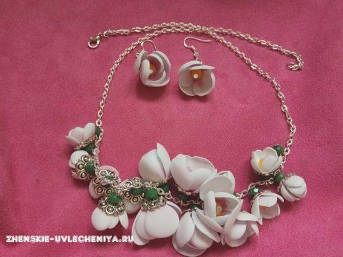Ожерелье из фоамирана