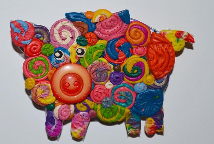 Свинка-магнитик