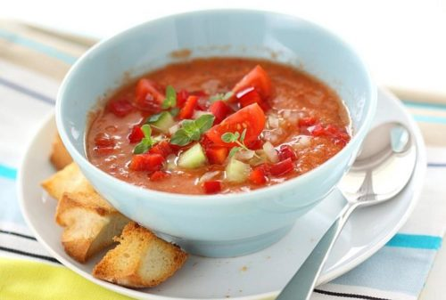 Летний суп
