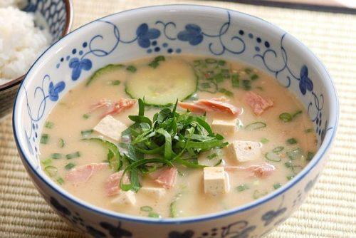Суп без варки на кефире