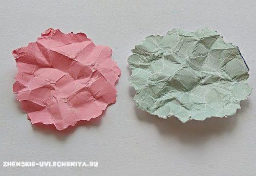 Смять бумагу