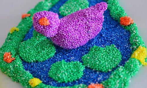 Лепка из шарикового пластилина