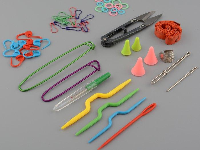 инструменты для вязания крючком и спицами как ускорить работу и