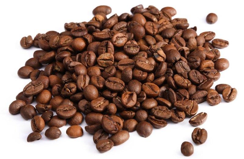Зерна кофе одного размера